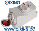 16A 4p Redwaterproof Switch and Socket