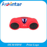 Bluetooth Speaker with Remote Control Hands-Free Call Loudspeaker Plastic Mini Speaker