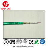 100% Bare Copper 7c2v Rg11 Coaxial Cable