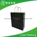 Luxury Custom Printing Printed Kraft Paper Shopping Packaging Carrier Gift Paper Bags for Packing with Handles