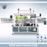 Automaitc Adhesive Sticker Bottle Front Back Two Sdies Labeling Machine