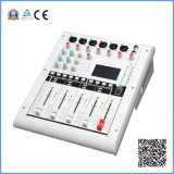10-Channel Digital Mixing Console with 6 Mic Preamps, 8 Outputs, 5 60mm Motorised Faders