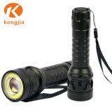 Cheap Wholesale Customized Emergency Light Aluminum COB LED Torch Flashlight