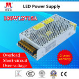 180W 12V AC to DC Customizable Switching Power Supply 15A for LED Lighting