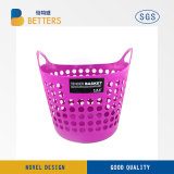 Cheap Large Plastic Washing up Round Folding Laundry Basket