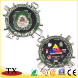 Creative Shape Round Badge Medal