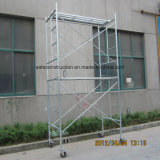 Safe SGS Passed Ladder Frame Scaffold for Decoration