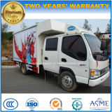 JAC Double Cab Mobile Stage Performing Vehicle LED Extendable Stage Truck