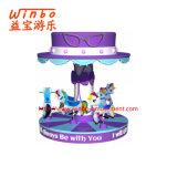 China Manufacturer Amusement Equipment Kiddie Carousel for Children Park (C033)