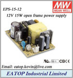 Meanwell EPS-15-12 12V 15W Mean Well Open Frame Power Supply
