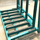 Metal Material L Shape Transportation Glass Rack with Rubber Mat