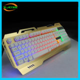 Machinery Touch Sense Metal Wire Drawing E-Sport Gaming Keyboard