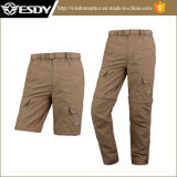 7 Colors Removable Outdoor Breathable Quick Dry Men′s Long&Short Pant&Trousers