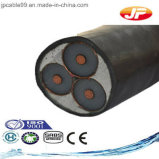 Medium Voltage XLPE Insulated Unarmoured Three Cores Power Cable