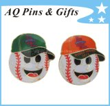 Baseball Trading Lapel Pin Badge for Name Badge ((badge-019)