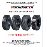 Rockbuster Brand Indian Pattern Mining Truck Tyre