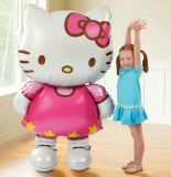 116*68cmhello Kitty Cat Foil Balloon/80*48cm Inflatable Air Balloon
