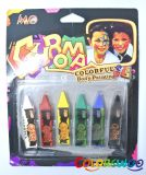 Face Paint, Clay Crayon, Party Paint, Funny Paint for Kids, Children Body Paint, Halloween Paint, OEM, ODM
