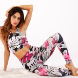 Custom Womens All Over Print Sublimation Yoga Fitness Wear