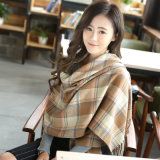 New Winter Warm Fashion Plaid Women Scarfs Cashmere Plaid Designer Scarves Shawls Female Blanket Scarf Pashmina