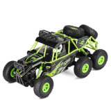 China Manufacturer 6wd Realistic Scale Block Climbing Cross Country RC Car Remote Control Toys