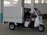 Air-Cooling Closed Box Tricycle for Food Delivery