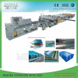 Wholesale Price Plastic PC PP Hollow Roofing Sheet/Panel Extrusion Production Line