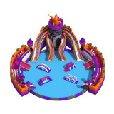 Cheer Amusement Inflatable Water Slip N Slide Castle Themed Inflatable Water Park