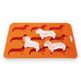 BPA Free Colorful Animal Shape Silicone Ice Tray Cube Mould