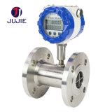 Water Turbine Flow Meter with Stainless Steel for Water Oil Fuel Diesel Methyl Alcohol Clean Liquid