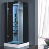 Single Person Square Acrylic Tray Bathroom Compact Steam Shower Room