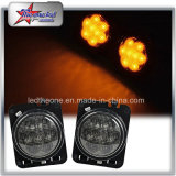 Fender Side Light Combo Smoke Lens for 07-16 Jeep Wrangler LED Side Light for Jeep
