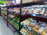 Epoxy Coated Metal Grocery Storage Wire Shelving Rack with NSF Approval