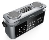 2.1 Channel Portable LED Screen Display Clock Bluetooth Speaker Bg-08_3