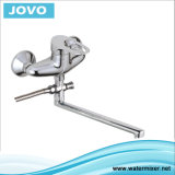 Sanitary Faucet Nice Design Single Handle Wall-Mounted Kitchen Mixer Jv72704