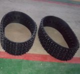 320mm Wide Rubber Crawler for Tracked Tank 320*87*33