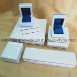 Kingly Pure White Wooden Jewelry Package Wholesale Jewelry Series Box