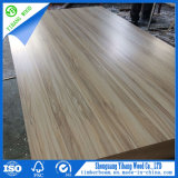 Cheap 3mm Flower Design Paper Overlaid Plywood to Somalia/Fancy Paper Coated Plywood