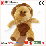 Stuffed Animal Soft Lion Toy Plush Hand Puppet for Kids