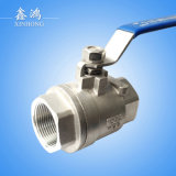 304 Stainless Steel 2PC Ball Valve Dn15 MID Type