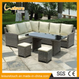 Top Quality Synthetic Rattan Outdoor Garden Furniture Corner Sofa Set