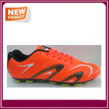 Orange Color Outdoor Soccer Shoes Wholesale