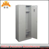 Factory Price Multi-Functional 2 Compartment Metal Wardrobe