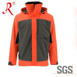 New Design 3-Layer Waterproof Wading Jacket Fishing Tackle (QF-1852)