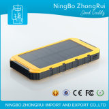 Best Selling Wholesale Waterproof Dual USB Solar Power Bank 10000mAh, Power Bank Portable Charger with Power Indicator