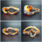 Latest Design Double Injected Frame Safety Goggle Eye Protection (SG147)