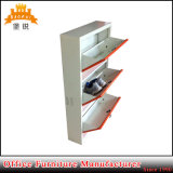 Office or Home Furniture Knock Down Structure Customized Steel Shoe Cabinet
