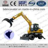Shandong Wheel Wood/Sugarcane/Straw Loader Small Loaders