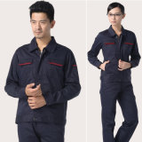 Navy Blue Insulated Contruction Workwear Suit for Worker