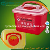 6.0L Sharps Box with Handle F6
